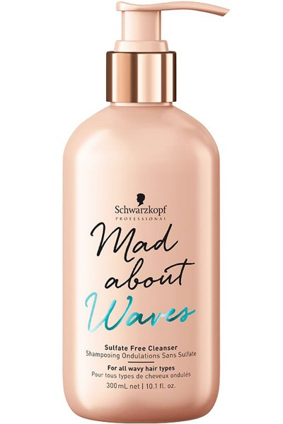 Schwarzkopf Professional Mad About Waves Sulfate Free Cleanser 300ml