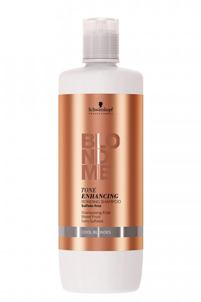 Schwarzkopf Professional Blondme Enhancing Bonding Shampoo Cool Blondes 1000ml