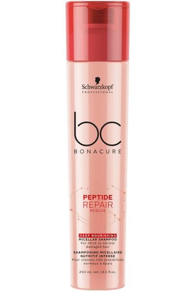Schwarzkopf Professional BC Peptide Repair Rescue Deep Nourishing Micellar Shampoo