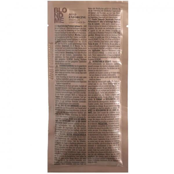 Schwarzkopf Professional Blondme Enforcing Premium Lightener 9+ Dust Free Powder